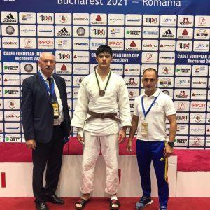 Rareş Arsenie, medaliat cu bronz la Cupa Europeană de Judo pentru Juniori 2!
