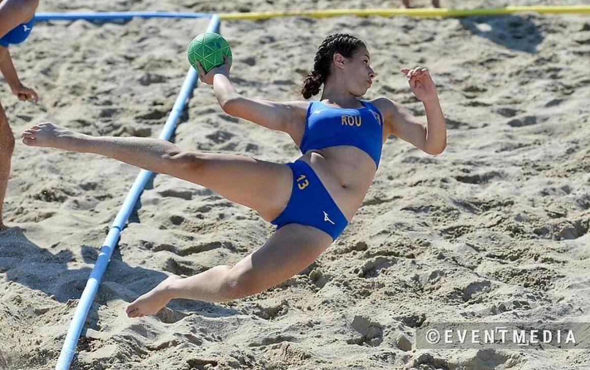 Diana Manole, pe locul al 9-lea cu România la Campionatul European de Beach Handball!