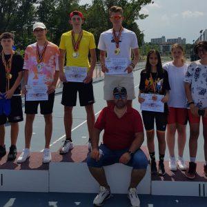 Patinatorii de la CSM Ploieşti, 23 de medalii obţinute la Campionatul Naţional pe Role!
