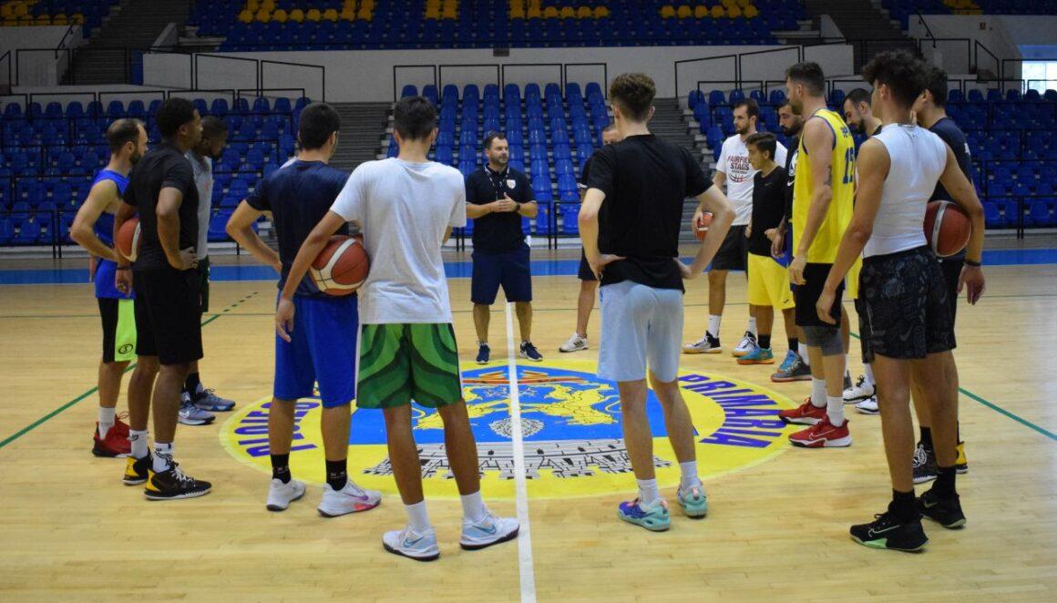 Echipa de baschet seniori, la primele antrenamente în formulă completă!