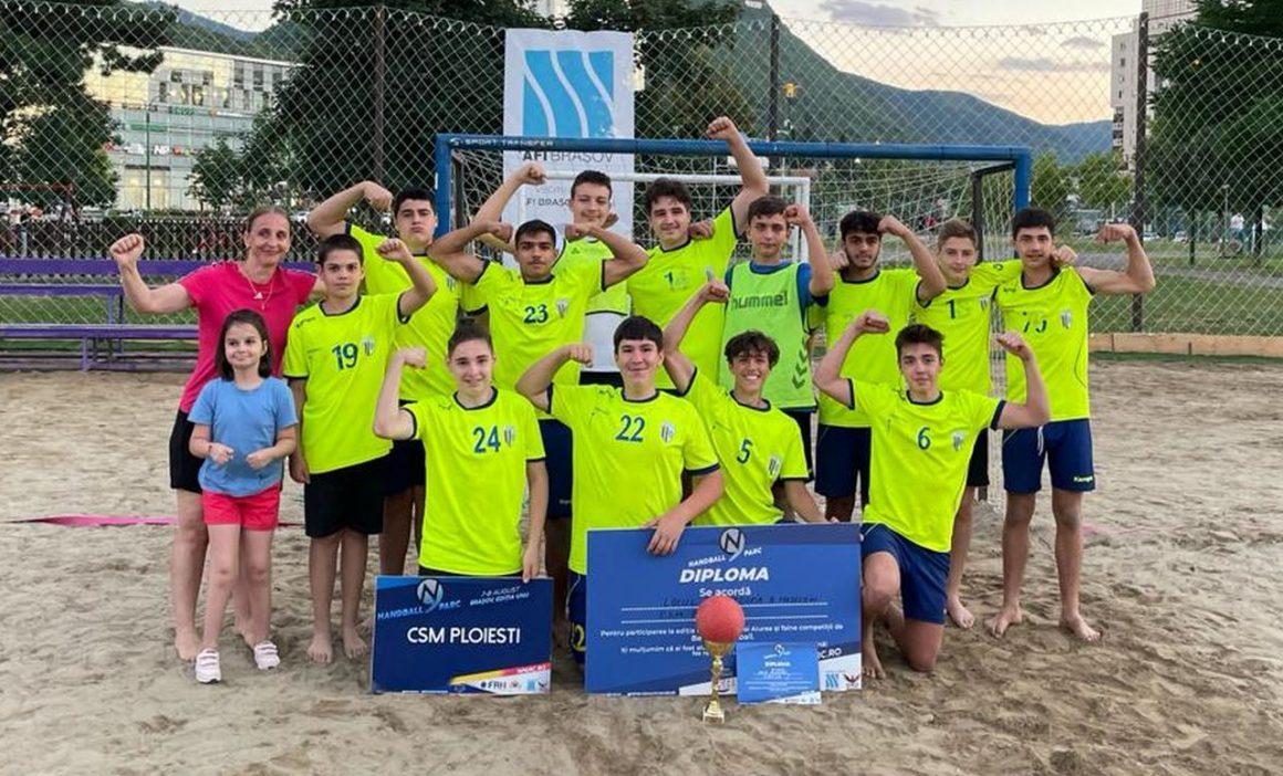 Juniorii B s-au calificat pentru Turneul Final al campionatului de Beach Handball!