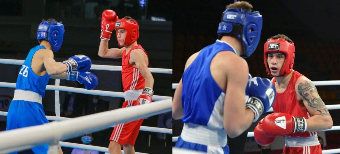 Boxerii Iulian Dumitrescu şi Marian Ghinoiu, în pregătiri pentru Campionatul European de Tineret!
