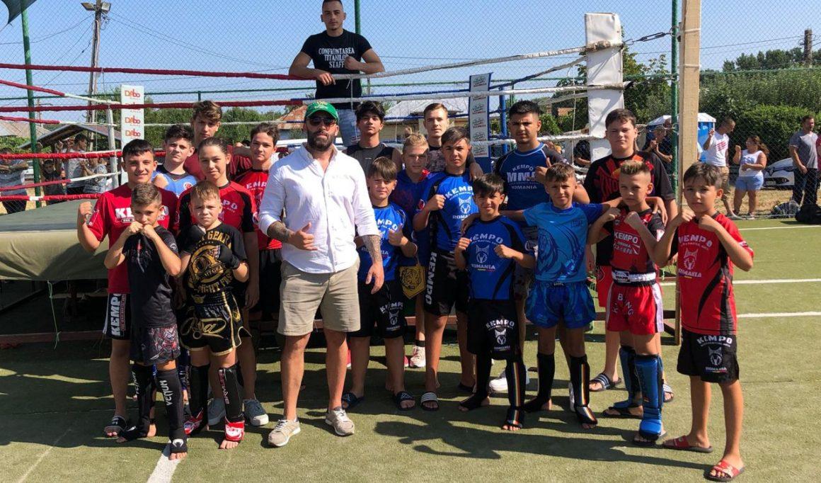 Sportivii secţiei de kempo au participat la Cupa Petreşti – Confruntarea Titanilor!