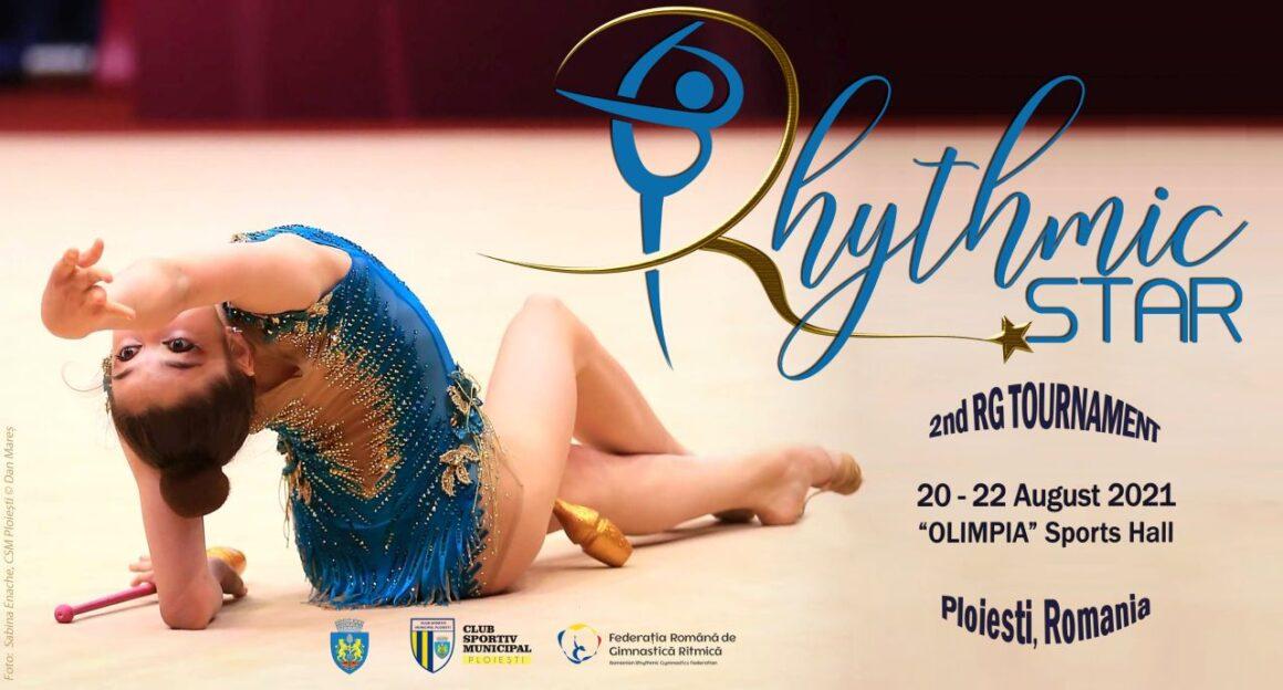 """Ediţia a II-a a """"Rhythmic Star"""" se desfăşoară, în weekend, în Sala Sporturilor Olimpia!"""