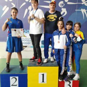 """Box: Livia Botică este campioană naţională de tineret la categoria """"81 kg""""!"""