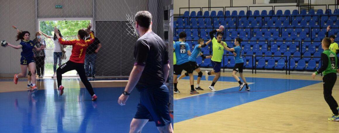 """Echipele de handbal J2 şi J3 ale CSM Ploieşti, pregătite de startul sezonului """"2021-2022""""!"""