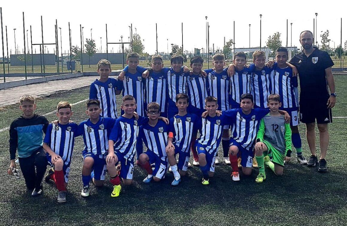 Fotbal: singurul succes din weekend, obţinut de echipa de juniori D!