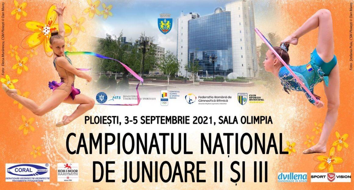 """Gimnastică ritmică: """"naţionalele"""" junioarelor II şi III au loc, în weekend, în Sala """"Olimpia""""!"""