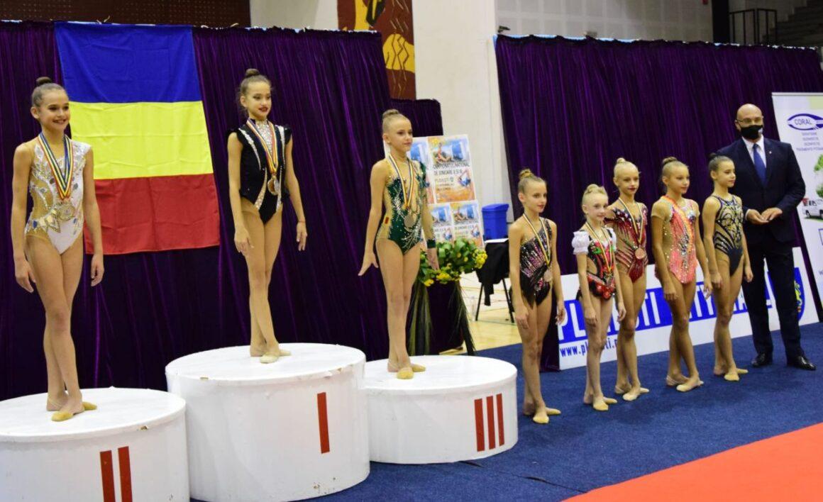 Gimnastică ritmică: CSM Ploieşti, o medalie de bronz la Campionatul Naţional pentru Junioare II şi III!