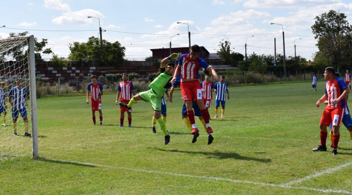 """Echipa de fotbal juniori """"U19"""", la a doua victorie consecutivă a sezonului!"""