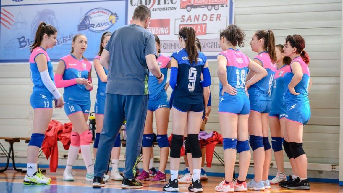 """Start în sezonul """"2021-2022"""" pentru echipa de volei junioare a CSM Ploieşti!"""